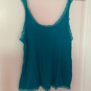 Blue soft and sexy tank from American Eagle